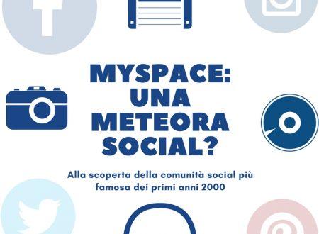 Myspace: una meteora social?