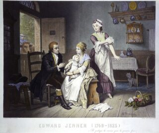 httpscommons.wikimedia.orgwikiFileEdward_Jenner_vaccinating_his_young_child_held_by_Mrs_Jenn_Wellcome_L0011550.jpg-320x268 Dossier Vaccini