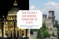 San Pietro e San Marino, fondatori di stati