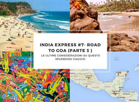 India Express #7- Road to Goa (parte 3 ): fine del viaggio