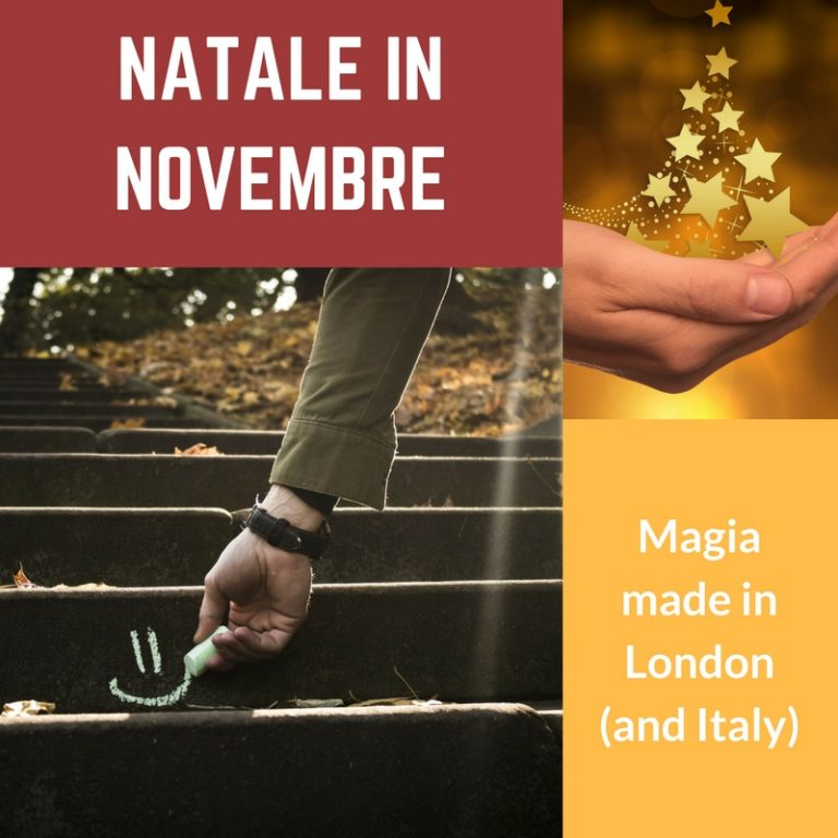 Natale in Novembre: magia made in London (and Italy)