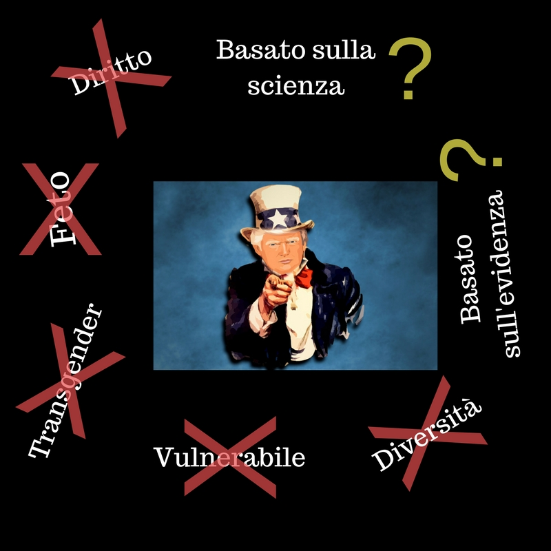 X Trump vs scienza: le 7 parole vietate