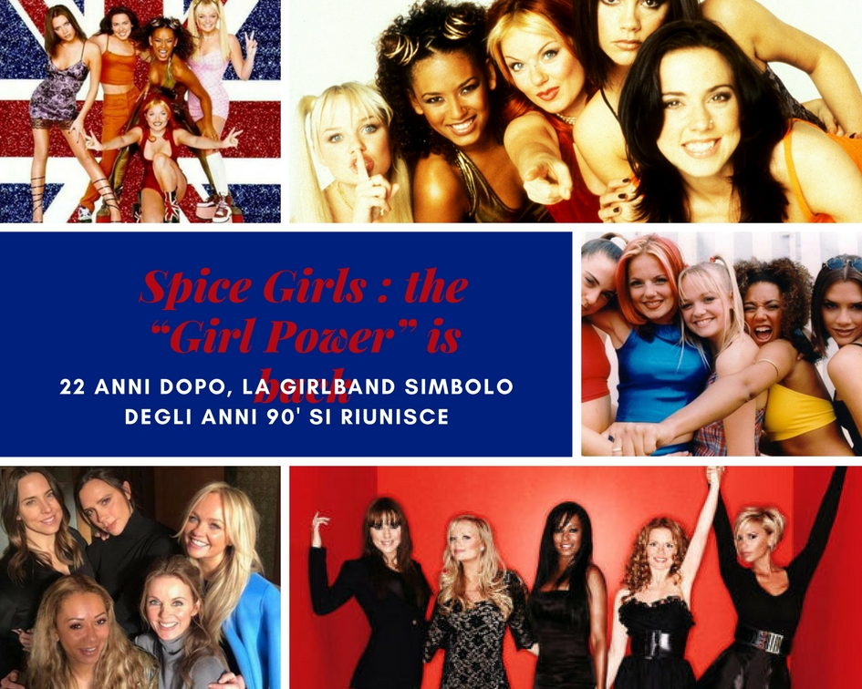 """Spice Girls : the """"Girl Power"""" is back"""
