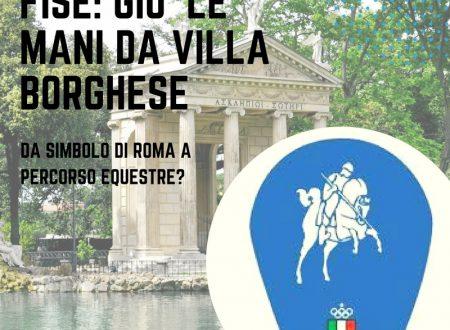 FISE, giù le mani da Villa Borghese