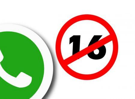 WhatsApp dice no agli under sedici: l'app introduce in Europa il limite di età