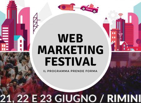 Web Marketing Festival: il programma prende forma