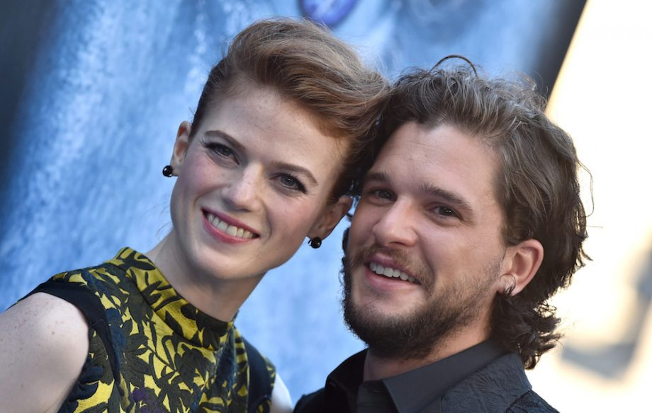 Kit Harington Rose Leslie Jon Snow