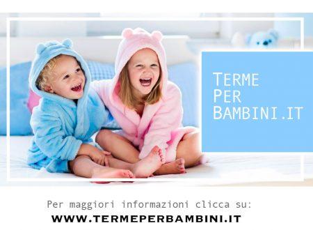 Terme per bambini i benefici del vapore termale