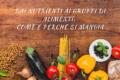 Dai nutrienti ai gruppi di alimenti: come e perché si mangia