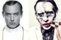 """""""The New Pope"""": Marilyn Manson sul set della serie di Paolo  Sorrentino"""