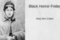 Black Horror Friday: Mary Ann Cotton