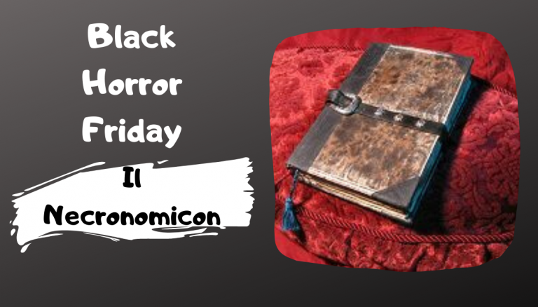 Black Horror Friday: Il Necronomicon
