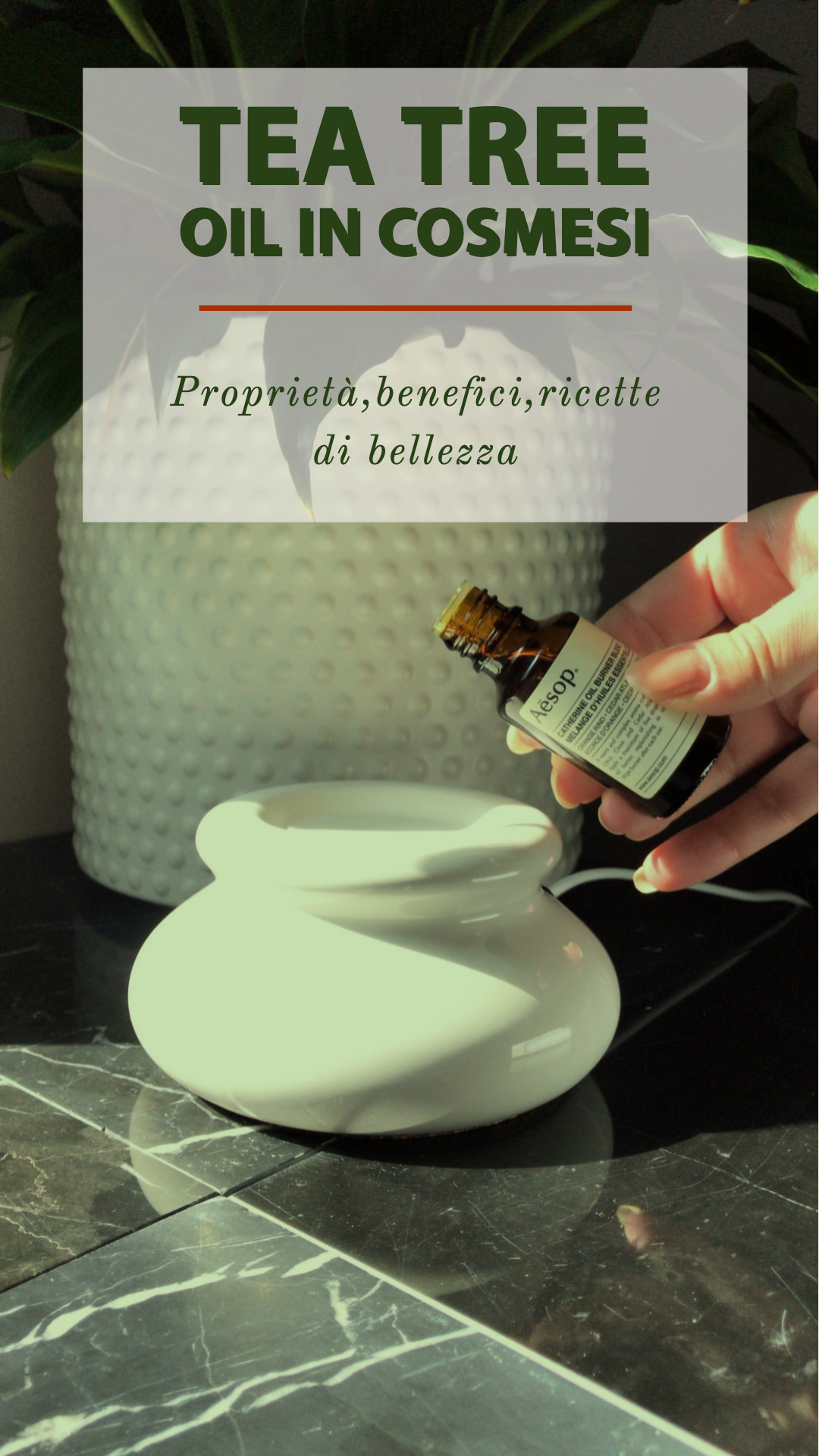 Pillole di bellezza naturale: tea tree oil