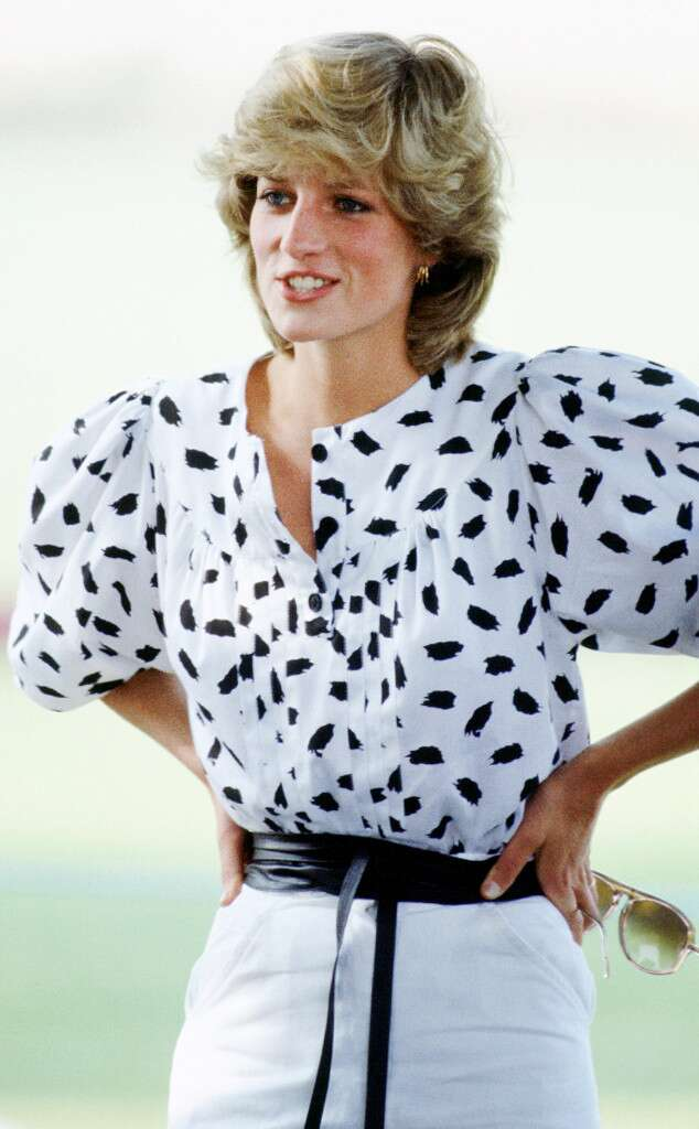 Lady Diana outfit casual