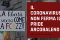 Il coronavirus non ferma il pride arcobaleno