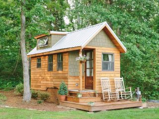 Small-tiny-house-cottage-with-only-204-square-foot-320x240 Tiny-house: le mini case immerse nella natura