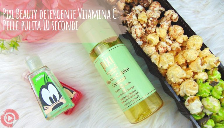 Pixi Beauty detergente Vitamina C: Pelle pulita in 10 secondi