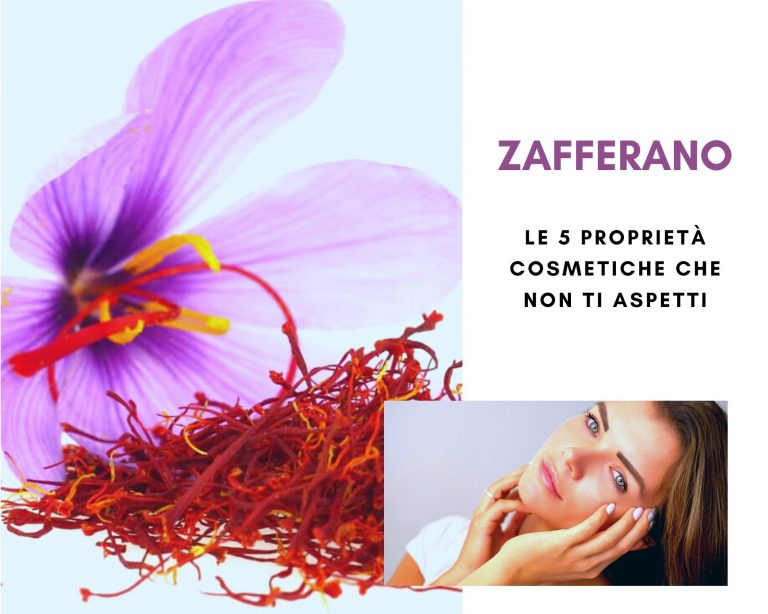 Zafferano: un ingrediente d'oro nella propria beauty routine