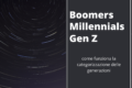 Millennials, Gen Z e Boomers: come funziona la categorizzazione delle generazioni