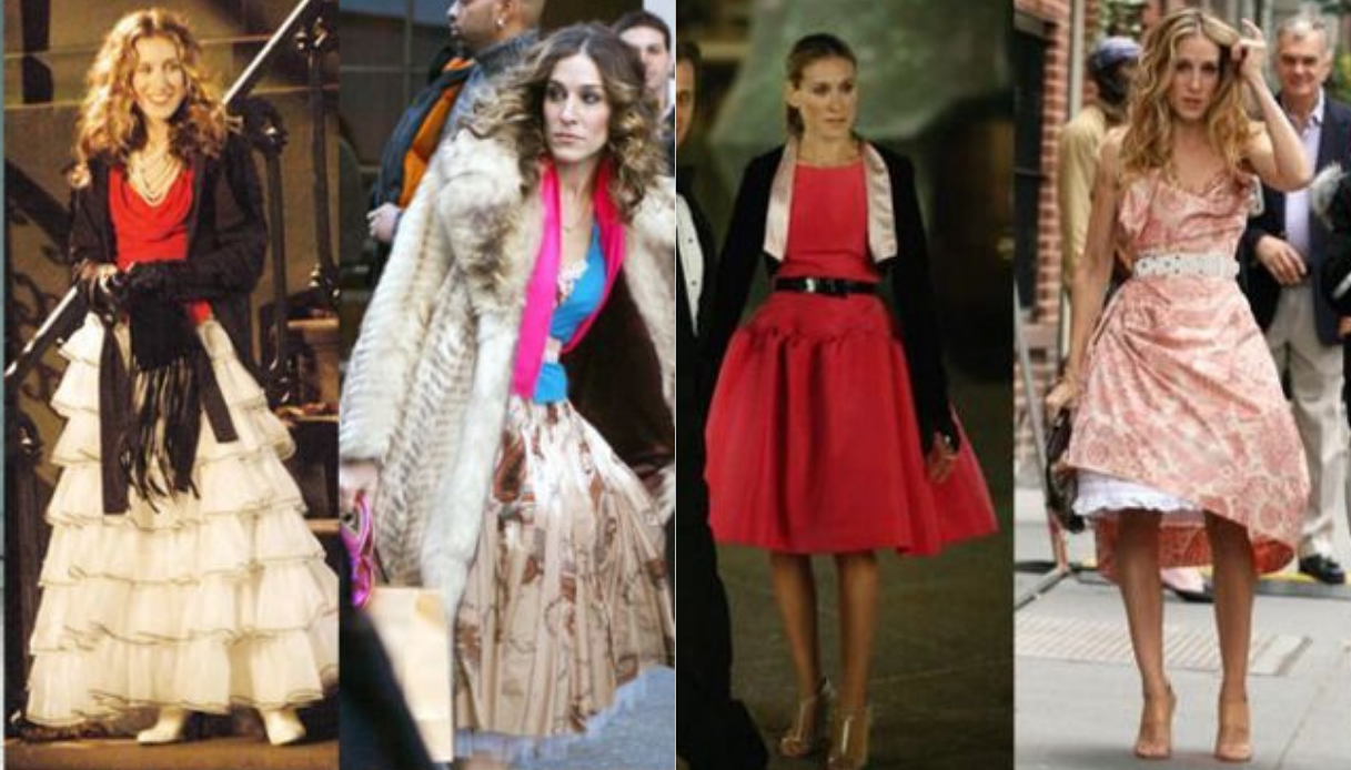 lezioni di stile di Carrie Bradshaw The Web Coffee