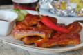 La mia ricetta delle costine di maiale marinate alla paprika dolce e peperoncino